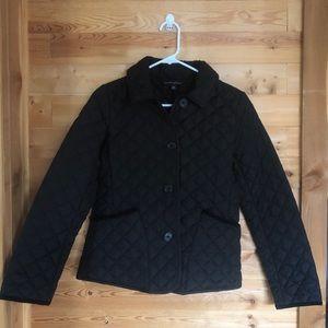 Banana Republic Black Puffer Jacket XS